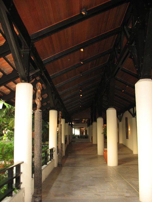 特具东南亚风格的酒店建筑