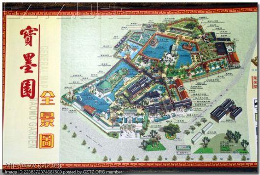 先来张宝墨园的地图